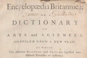 Encyclopaedia Britannica, 1768-1860