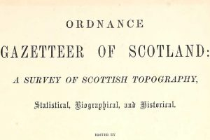 Gazetteers of Scotland