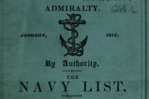British Navy Lists