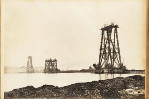 Forth Bridge illustrations 1886-1887