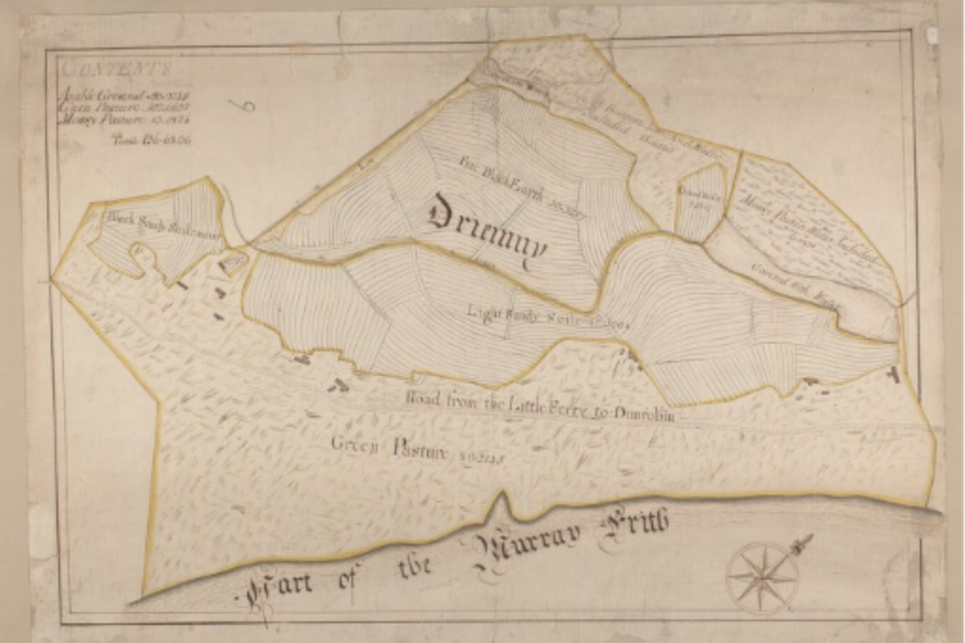 John Kirk – Survey of farms in Golspie and Loth parishes, Sutherland, ca. 1772