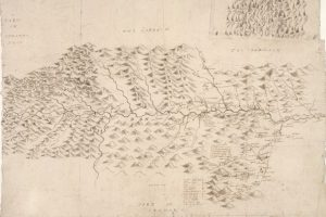 Manuscript maps by Robert and James Gordon circa 1636-1652