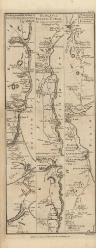 G Taylor and A Skinner's Survey and Maps of the roads of North Britain or Scotland, 1776